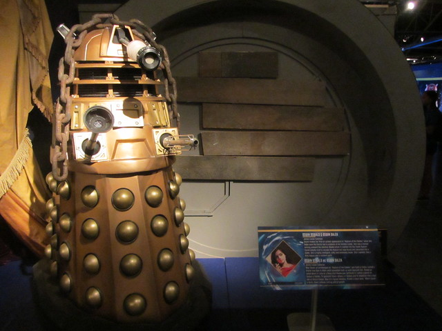 a picture of Dr Who Experience dalek