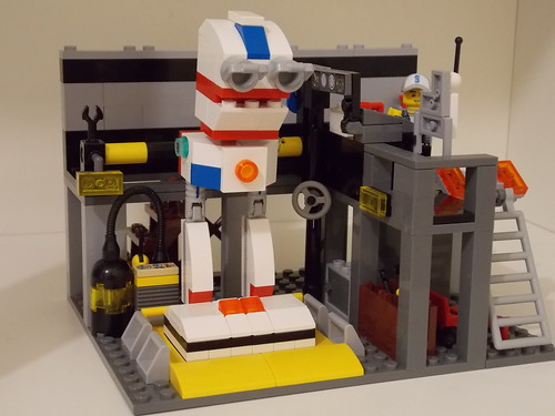 Lego - Recharging area