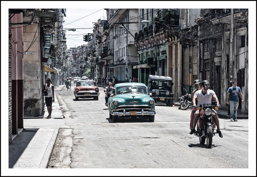 straatbeeld Havanna by hans van egdom