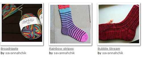 sock WIPs 2011-12