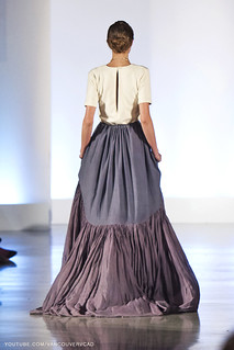 Eco Fashion Week Day 3 Evan Ducharme Fashion Collection Belladonna - London Hue Skirt and Romance Top