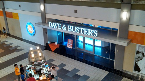 Ready! Set! Wait a minute! Do you know what you're doing? There's so much fun going on at Dave & Buster's, you could get lost before you even get going!