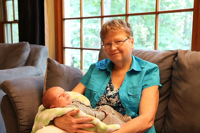 Grandma Susan and Griffin