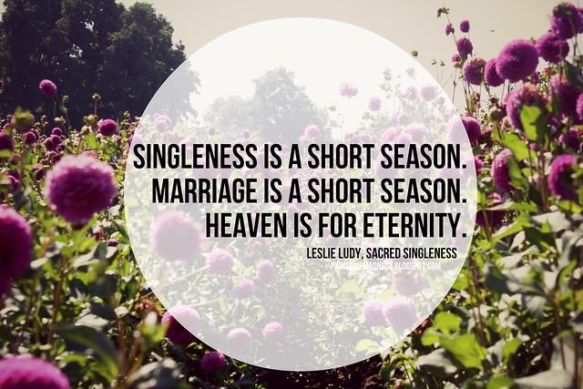leslie ludy's sacred singleness