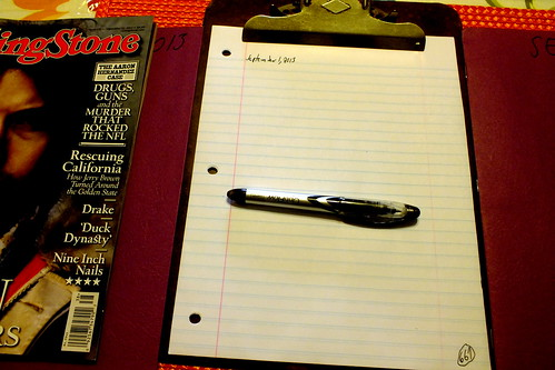 September 2013 diary