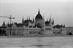 The Hungarian Parliament - Danube flood Budapest June 2013