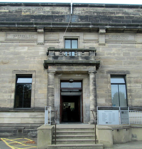 Kirkcaldy Museum and Art Gallery, New Entrance