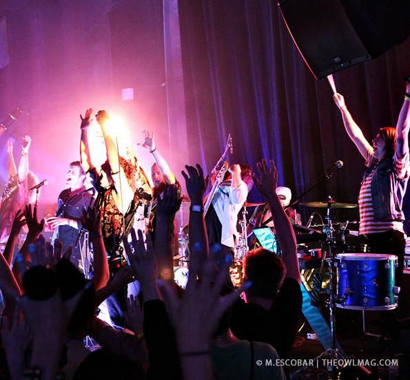 The Mowglis @ Mark Sennett Studios, LA 9/24/13