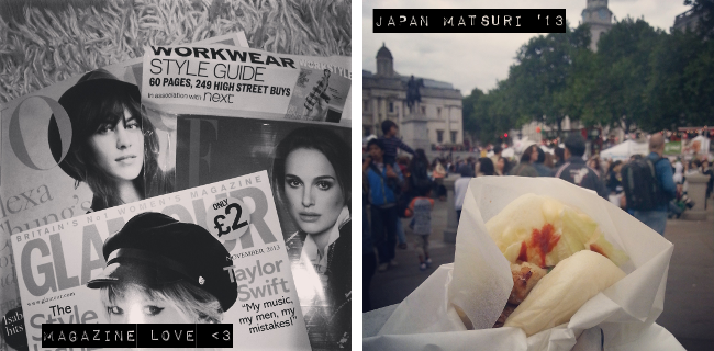 Daisybutter - UK Style and Fashion Blog: uk fashion blogger, photo diary, weekend photo diary, magazines, shoryu ramen