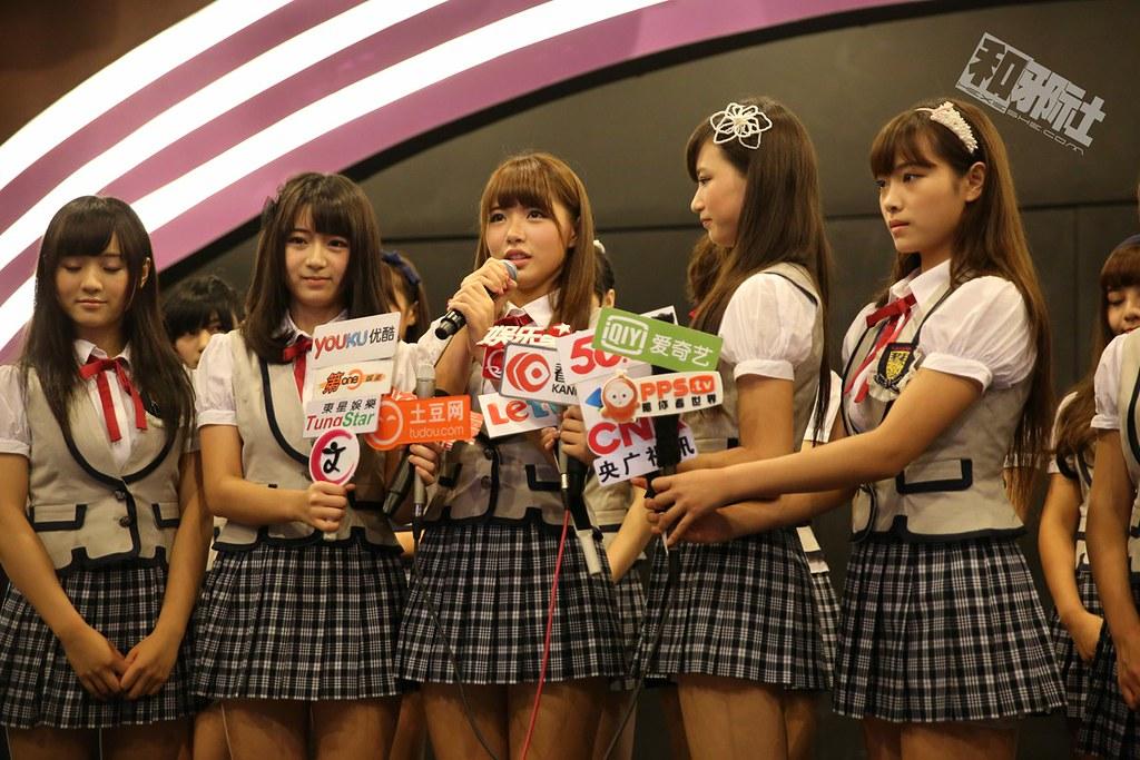SNH48 一周年 星梦剧场 采访