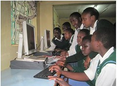 e learning centre Kenya - Nasakol Girls Secondary School