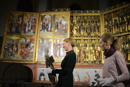 Rode altar