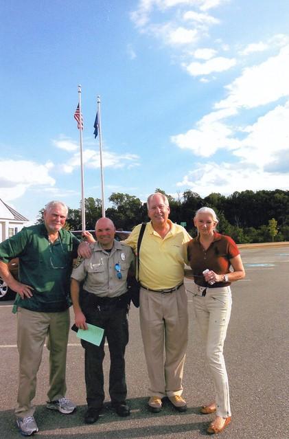 clive cussler visits sailors creek battlefield state park