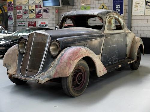 Rare 1934 Hupmobile Coupe