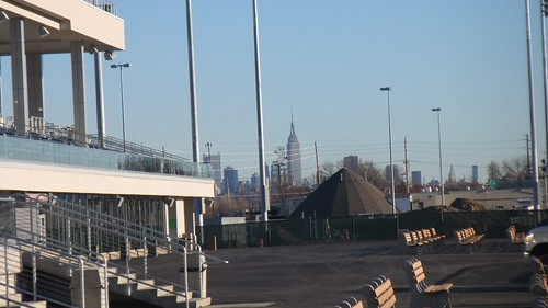 Empire State Building From New Meadowlands Racetrack