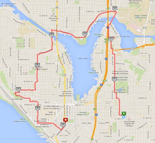 Today's awesome walk, 9.14 miles in 2:56 (433 ft gain) by christopher575