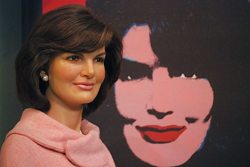 Jackie O wax statue at Madame Tussaud's Museum in Times Square