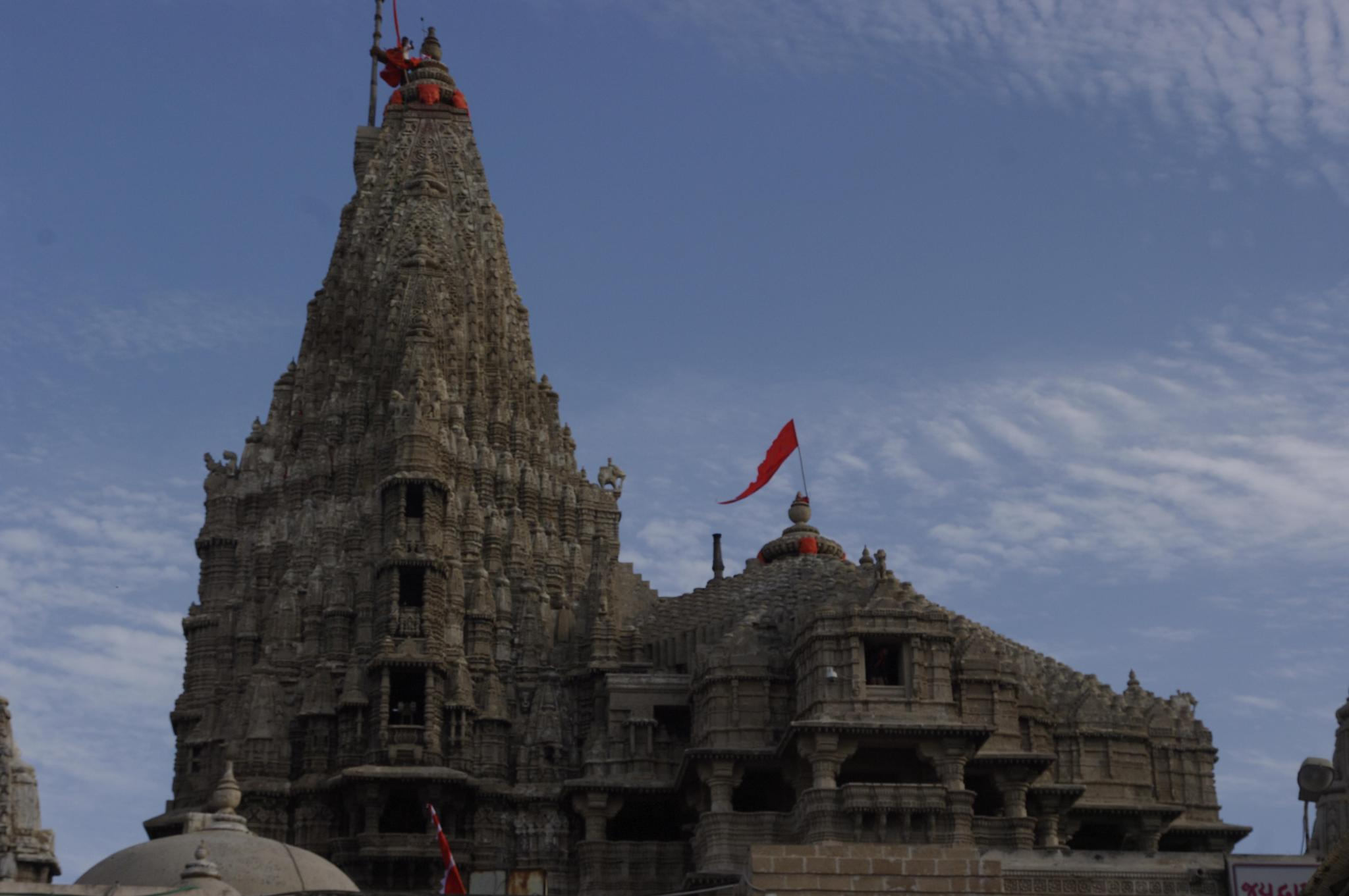 Dwarka - the temple