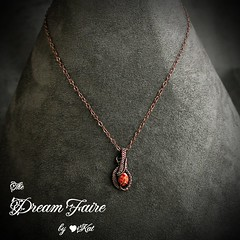 Cooling Magma Drop Necklace