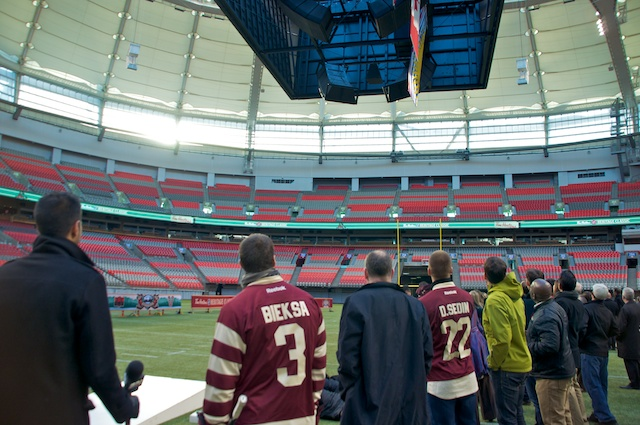 NHL Heritage Classic at BC Place