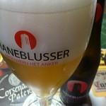 ベルギービール大好き!!マーネブリュッセルManeblusser