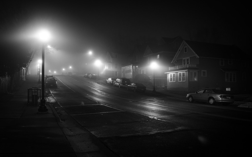 Mankato Street in the Fog