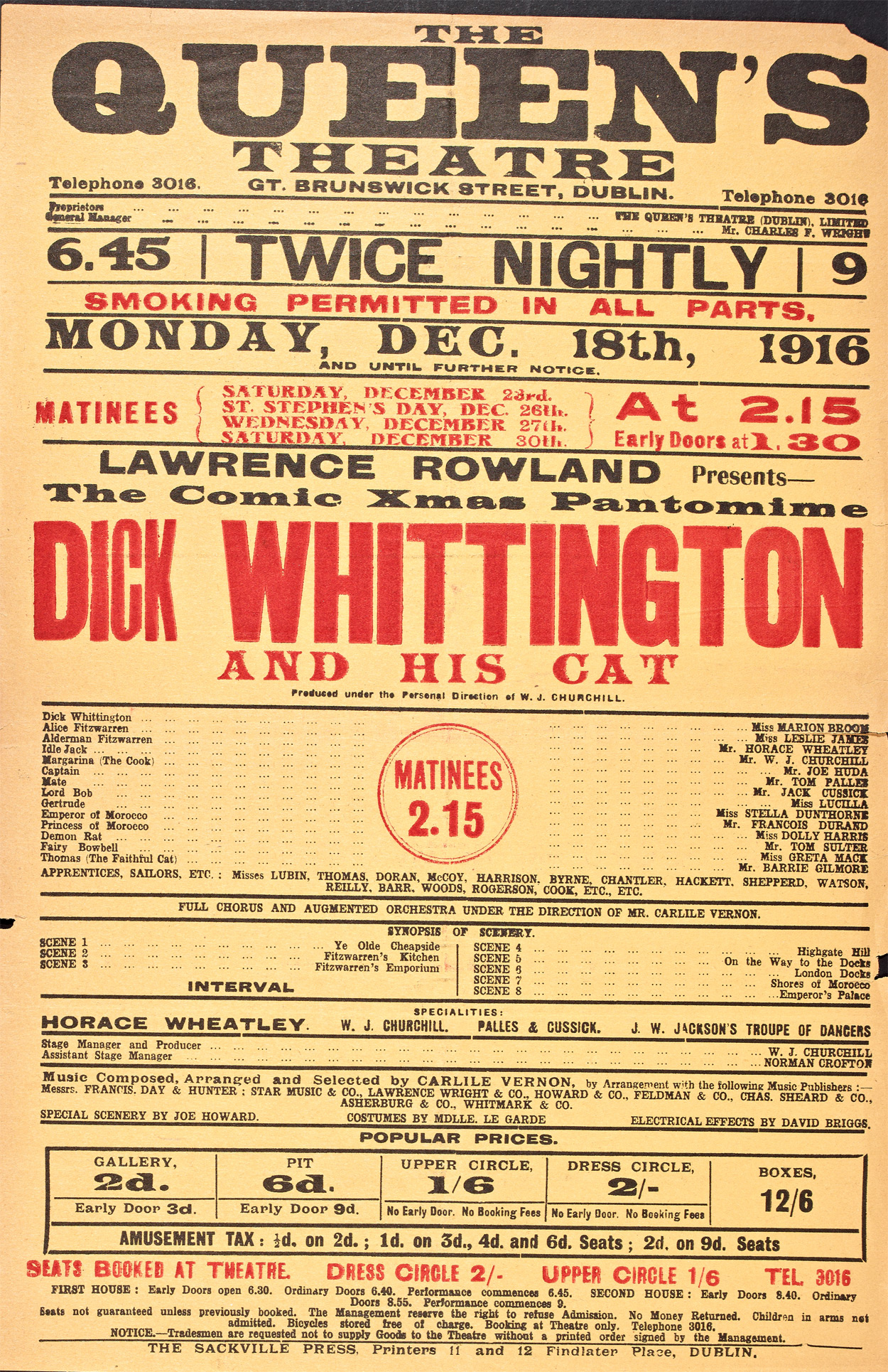 Pastomimes - Dick Whittington and his Cat