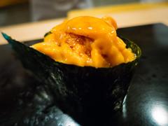 Uni (Sea Urchin) @ Sukiyabashi Jiro