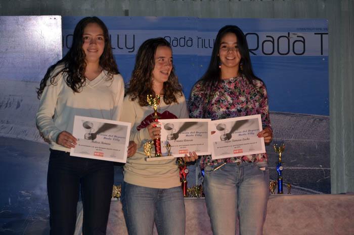 Melisa Romero, Oriana Amorín y Sofía Lacho