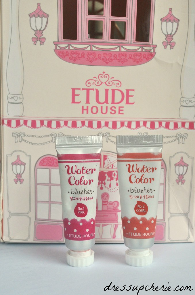 etude house watercolor blusher review pink coral