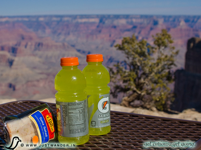 PIC: Grand Canyon - South Rim for a Picnic Lunch