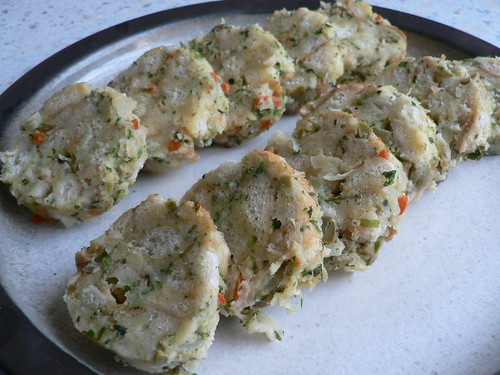 Napkin Olive Dumplings 011