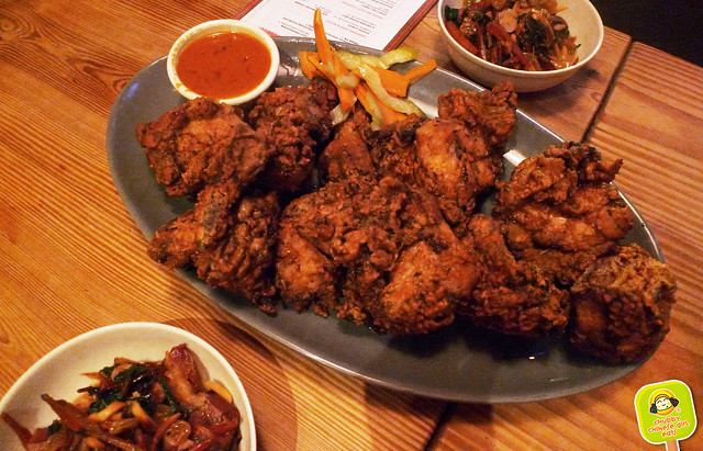 fatta cuckoo - fried chicken dinner
