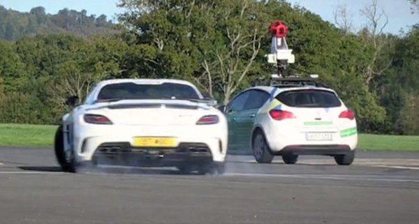 Автомобиль Google Street View
