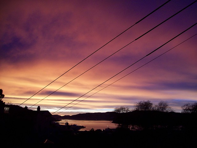 Dunedin Winter sunrise 1