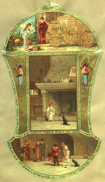 Almanach des Postes et des Télégraphes, registre de 1889 - Cendrillon