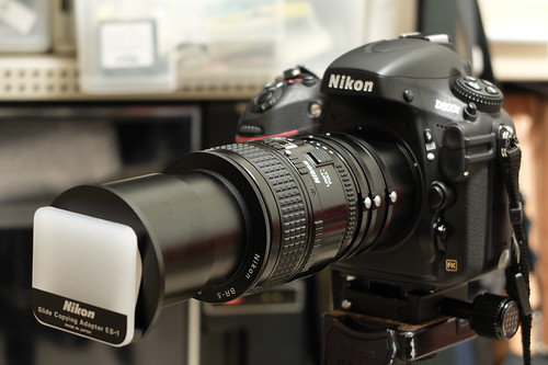 Nikon D800E Slide Copying Set