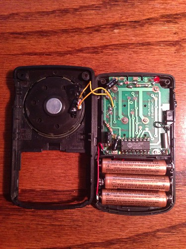 Radio Shack Pocket Tone Dialer (Inside)