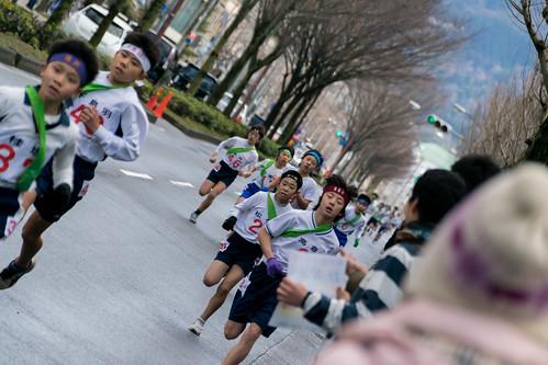 第28回 京都市小学校「大文字駅伝」大会