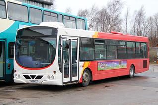 Rossendale Transport 230 YN06NXZ at Bus & Coach World in Blackburn.