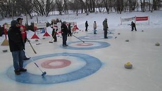 Ironman Outdoor Curling 2014