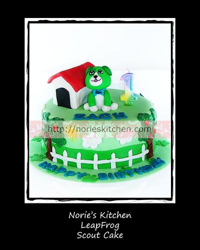 Leapfrog Counting Birthday Cake