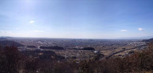 各務原権現山 北山展望台からの眺望