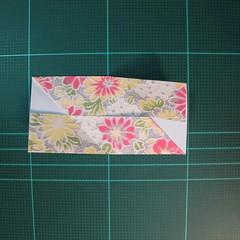 การพับกระดาษเป็นรูปเรขาคณิตทรงลูกบาศก์แบบแยกชิ้นประกอบ (Modular Origami Cube) 009