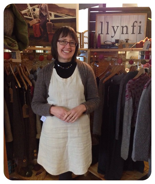 Llynfi - beautiful hand crafted wool clothing from Wales -  at Unravel 2014