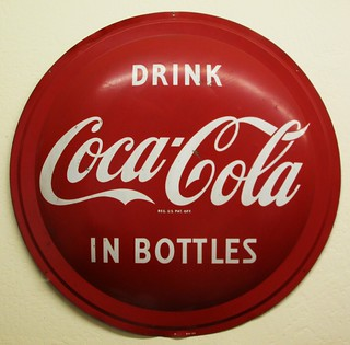 Vintage Drink Coca-Cola Sign