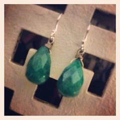 turquoise, turquoise, jewellery, gemstone, emerald, earrings,