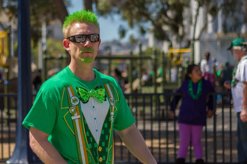 Man in Irish Fancy Dress