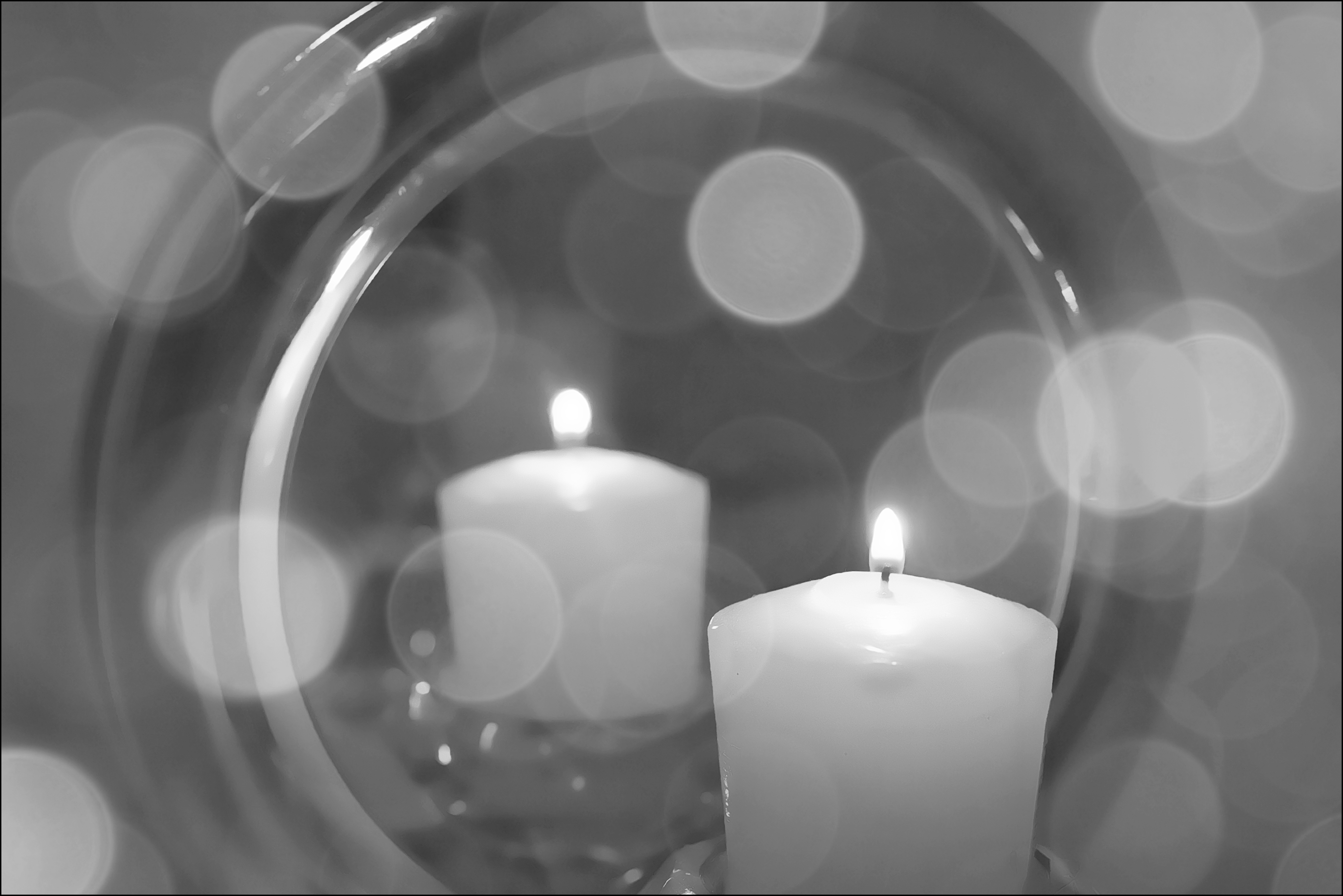 Our Daily Challenge: Smoke & Mirrors. bw, canon, mirror, candle, bokeh, smoke, mirrors, 28, 40mm, odc, 60d, ourdailychallenge. buy photo