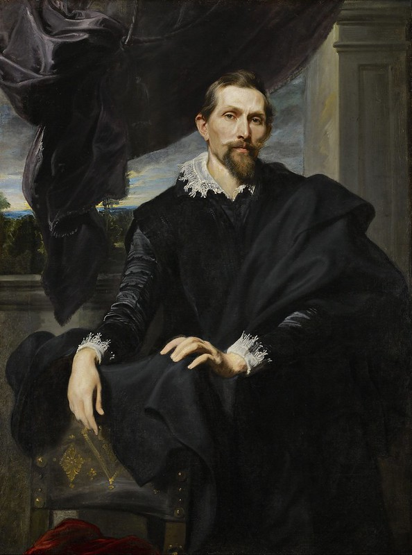 Anthony van Dyck - Frans Snyders (c.1620)
